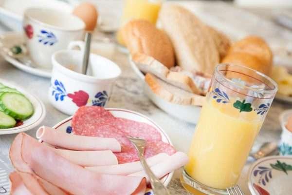 Ontbijt voor 2 personen | Bed and Breakfast In ons Straatje, Kruisstraat Rosmalen - Noord-Brabant