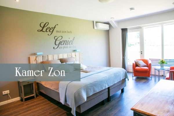 Kamer Zon | Bed and Breakfast In ons Straatje, Kruisstraat Rosmalen - Noord-Brabant